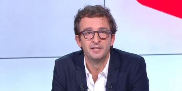 """Cyrille Eldin reconnaît que le lynchage qu'il a subi au """"Petit Journal"""" était """"amplement mérité""""."""
