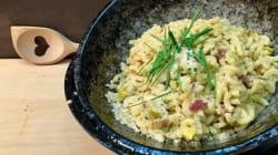 Cette recette de risotto risque de faire bondir les puristes de la cuisine