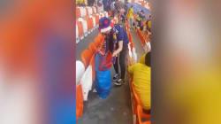 Con questo gesto i tifosi colombiani e giapponesi hanno vinto i mondiali della