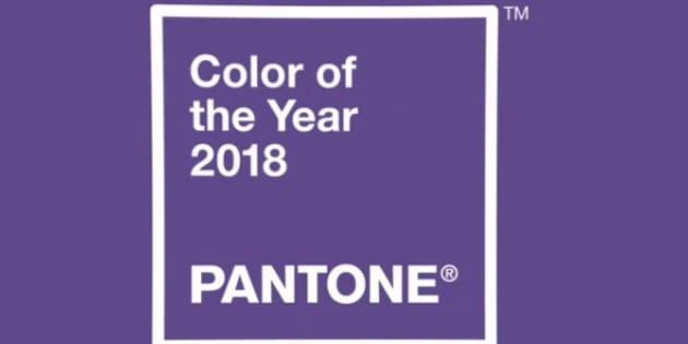 La couleur choisie par Pantone pour 2018 est l'Ultra violet