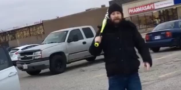 Baseball bat-wielding racist assaults household in Canada