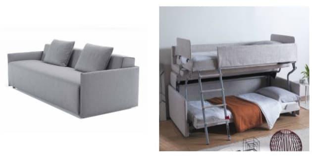 Ce canapé peut vous faire gagner un espace non négligeable dans votre appartement