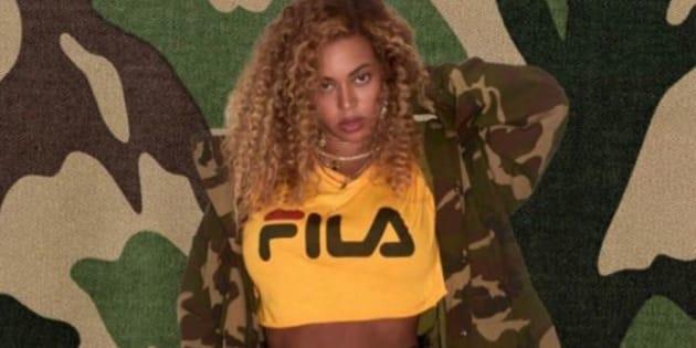 Beyoncé en FILA, ressortez vos joggings, les années 90 n'ont jamais été aussi proches de nous