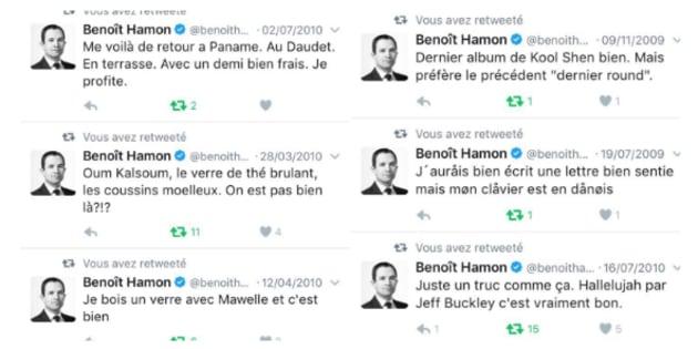 De vieux tweets de Benoit Hamon refont surface.