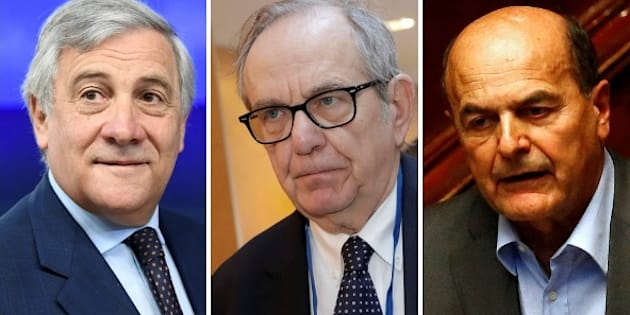 Tajani, Padoan e Bersani pensano già al post governo