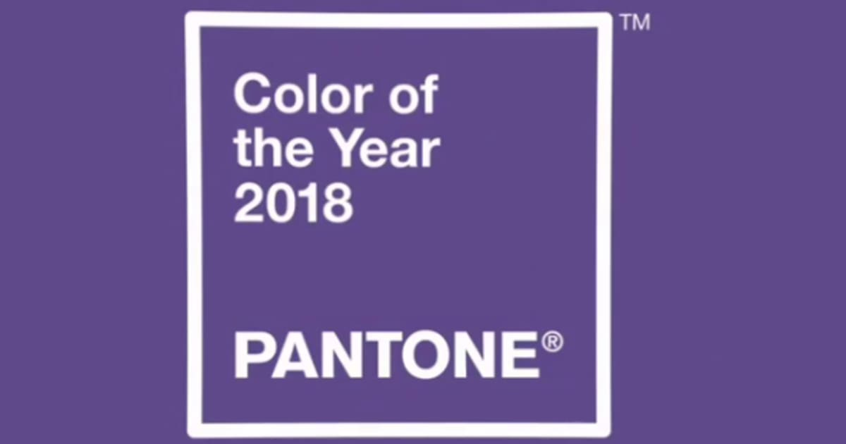 l 39 ultra violet sera la couleur de l 39 ann e 2018 selon pantone. Black Bedroom Furniture Sets. Home Design Ideas