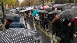 Des files d'attente interminables à Montréal où votent les Français