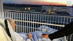 Un ospedale danese esaudisce l'ultimo desiderio di un malato terminale: una sigaretta e un bicchiere di vino al