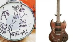 Grâce à Metallica et Benjamin Biolay, ces victimes du 13-Novembre ont organisé des enchères