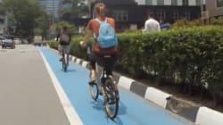 BLOG - On a rencontré l'artiste qui a créé une carte astucieuse des pistes cyclables de Kuala