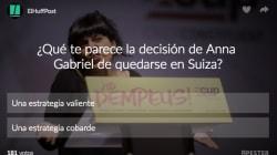 VOTA: ¿Qué te parece la decisión de Anna Gabriel de quedarse en