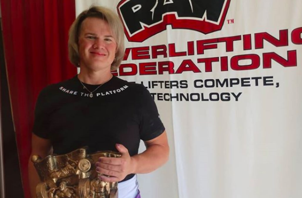 Transgender weightlifter smashes women's world records