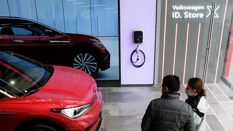 VW electric car sales in China are off to a slow start