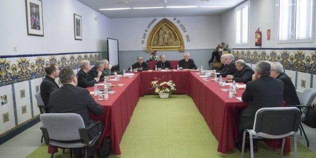 Reunión de los obispos de Cataluña.