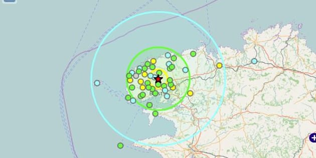 Un léger séisme ressenti près de Brest dans le Finistère