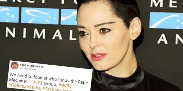 L'actrice Rose McGowan demande des comptes aux actionnaires de la Weinstein Company, dont TF1