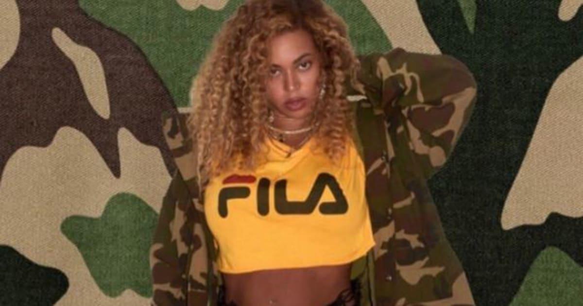 Beyoncé en FILA, les années 90 n'ont jamais été aussi proches de nous