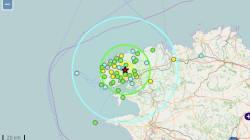 Un léger séisme ressenti près de Brest, le 4e en quelques