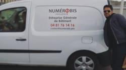Le nom de cette entreprise en bâtiment a beaucoup plu à Jamel