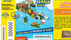 Lotteria italia 2017: tutti i biglietti vincenti. Primo premio di 5 milioni ad