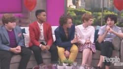 Emma Watson confunde a los niños de 'It' con los de 'Stranger
