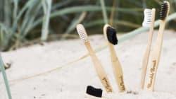 Questi spazzolini 100% biodegradabili trasformeranno il lavarsi i denti in un gesto a favore della
