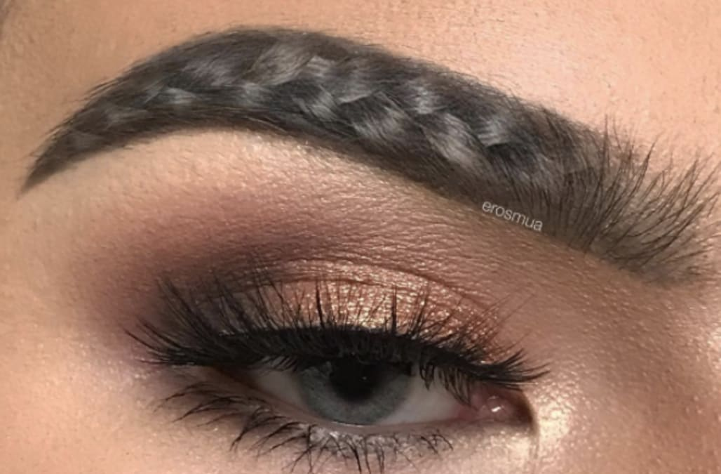 Braided Eyebrows Are The Latest Absurd Beauty Trend That Truly