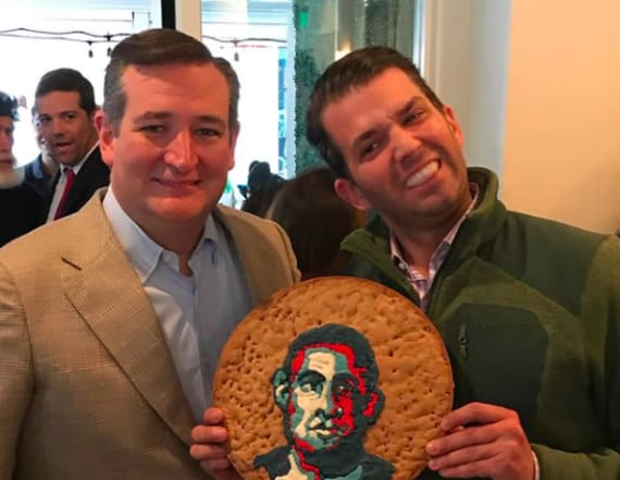 Donald Trump Jr., Ted Cruz appear to mock Obama