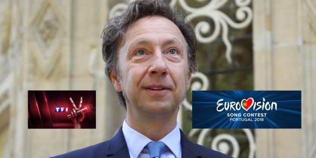 """""""Eurovision"""" face à """"The Voice"""": Stéphane Bern regrette que TF1 sorte """"l'artillerie lourde."""""""