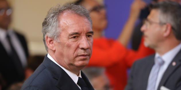 """Affaire Benalla: Bayrou """"n'approuve pas"""" l'attitude du gouvernement et de La République En Marche"""