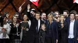 Qui était sur la photo de famille de Macron au