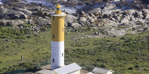 South Head Lighthouse, Saldanha Bay, Western Cape, South Africa.