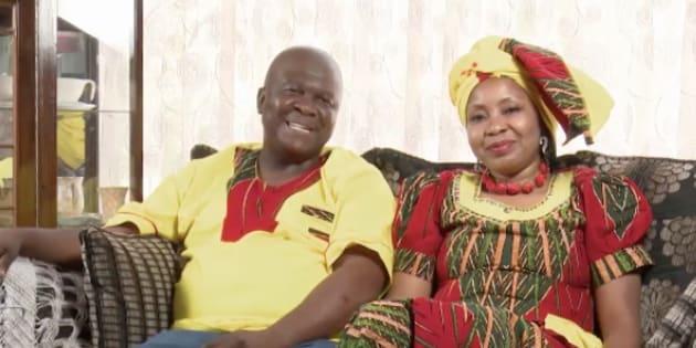 Michael and Grace Msibi.