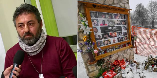 Alessio Feniello, padre di Stefano, una delle vittime della tragedia di Rigopiano - le foto delle vittime