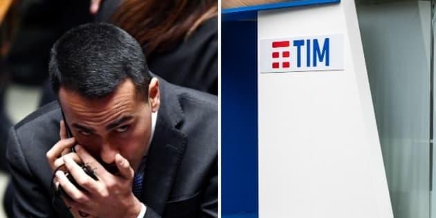 La libera licenza di Luigi Di Maio all' Agcom per imporre la fusione tra Tim e Open Fiber