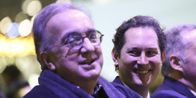 """John Elkann: """"Sergio è stato un leader illuminato e un"""
