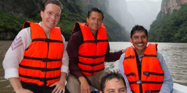 Enrique Peña Nieto borra de Instagram foto con Julión Álvarez