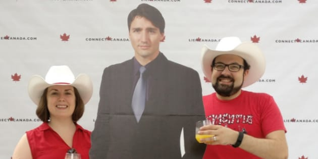 There will be no more selfies, at least with the fake Trudeau.