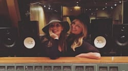 Spice Girls Geri Horner And Emma Bunton Are Back In The Studio