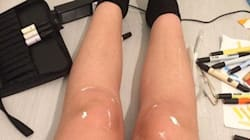 These Shiny Legs Are Creating Hysteria On The