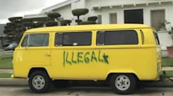 Latino nacido en EU encuentra su combi vandalizada con