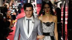 Le fils de Gad Elmaleh défile à la Fashion Week et ça inspire une blague à son