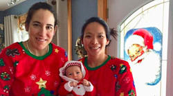 Canada-US Hockey Rivals Turned Moms Share Adorable Holiday