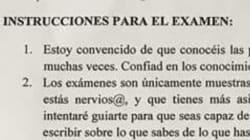 La lección viral de un profesor de la Universidad de Granada a sus alumnos