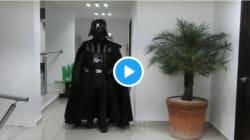 Darth Vader quiere erradicar el VIH en