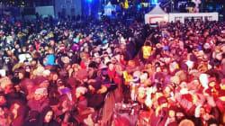 Des milliers de personnes ont fait le party à Montréal malgré le froid