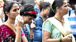 Estampida humana en puente de Bombay deja 22