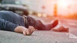 Inseguito dalla polizia cade e sbatte la testa, morto un