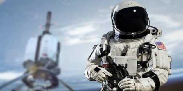 Satellite kamikaze, canon laser... Pourquoi les États-Unis ont embauché un général de l'espace (photo d'illustration: Call of Duty : Infinite warfare)