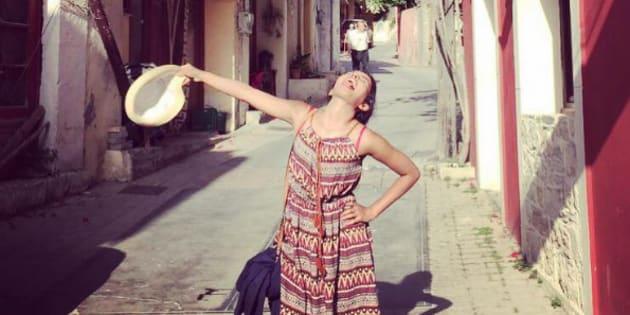 Huma goes to Greece